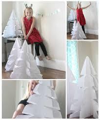 giant diy origami trees christmas u0026 winter decor tinselbox
