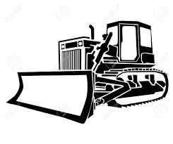bulldozer royalty free cliparts vectors and stock illustration