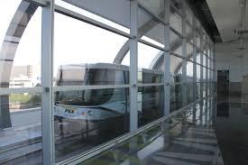 light rail to sky harbor free automated sky harbor airport sky train debuts monday