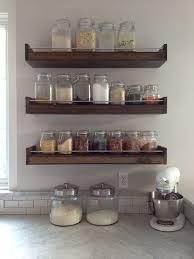 kitchen shelf ideas best kitchen rack shelves best 25 spice racks ideas on