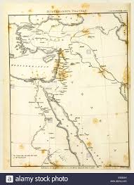 Nile River On Map Travels In Nubia Map 19th Century Engraving Nubia Is A Region