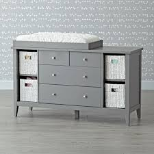 Changing Table Or Dresser Grey Baby Changing Table Dresser Sorrentos Bistro Home