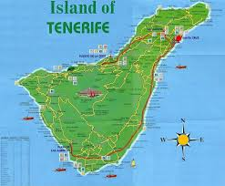 tenerife holiday guide tenerife road map tenerife pinterest canary islands and