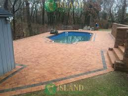 Types Of Patio Pavers by Patio Pool Pavers Gallery Island Paving And Masonry