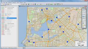Shortest Route Map by Finding Shortest Paths With Maptitude 2015