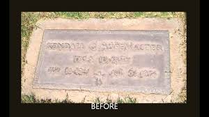 bronze cemetery markers how to restore bronze markers