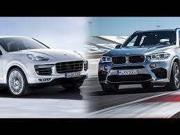 porsche cayenne turbo vs turbo s 2016 bmw x5m vs 2016 porsche cayenne turbo s
