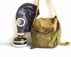 Halloween Gas Mask Costume Military Gas Mask Etsy