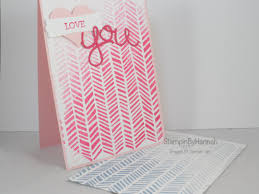 Ombre Background Ombre Background Stamping U2013 Stampinbyhannah U2013 Stampin Up Uk