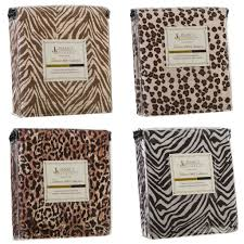 Cheetah Bedding Amazon Com Authentic Jessica Sanders 1800 Series 4pc Bed Sheet