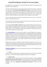 Pharmacist Consultant Resume Australiaimmigrationservicesforinsuranceagent 130715005549 Phpapp02 Thumbnail 4 Jpg Cb U003d1373849785