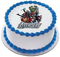 marvel cake toppers the marvel heroes personalized edible