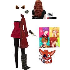Freddy Halloween Costumes Nights Freddy U0027s Foxy Human Female