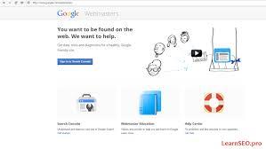 google webmaster tools tutorial beginner u0027s help guide learnseo pro