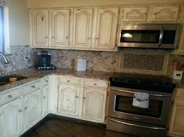 projects inspiration rustic white cabinets best distressed kitchen