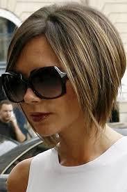 coupe carrã cheveux fins coiffure carr plongeant beckham coiffure carr coupe