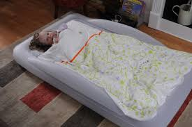 travel mattress images The shrunks indoor tuckaire toddler travel bed review travel jpg