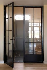 Exterior Wood Doors With Glass Panels by Best 10 Internal Doors With Glass Ideas On Pinterest Glass