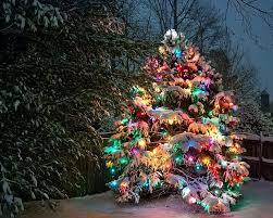 362 best snowcoveredxmastrees images on pinterest christmas