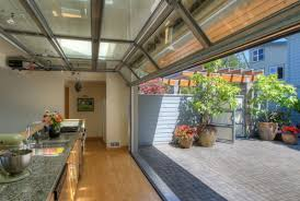 Used Overhead Doors Decoration Glass Garage Doors Kitchen With Kitchen With Glass