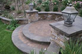 Retaining Wall Patio Patio Pavers