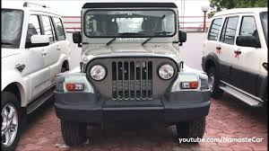 jeep car mahindra mahindra thar crde 2017 real life review youtube