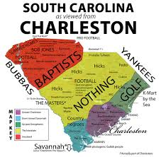 South Carolina Memes - xarkaganda south carolina as viewed from charleston