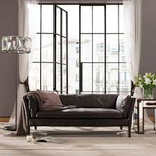 Leather Sofa Co Halo Groucho Saddle Leather Sofas Armchair And Footstool