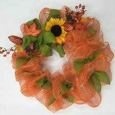 Sunflower Mesh Wreath Crankin U0027 Out Crafts Ep496 Straw Wreath Youtube