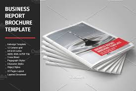 letter size brochure template business report brochure template brochure templates creative