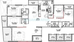 Sm Mall Of Asia Floor Plan by 4 Bhk 3700 Sq Ft Apartment For Sale In Godrej Platinum Bangalore