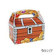 Treasure Chest Favors by Pirate Treasure Chest Treasure Chest Favors Pirate Coins