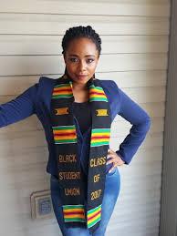 graduation stole custom black student union kente stoles http www graduationkente