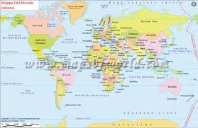world map with country name and capital and currency mappa mondo world map in italian language maps