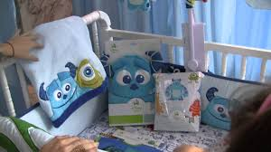 Unisex Nursery Curtains by Disney Baby Monsters Inc Nursery Theme Youtube