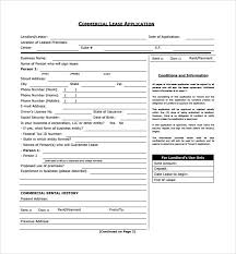 sample commercial lease form 11 download free documents in pdf