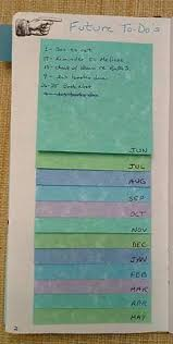 comment mettre des post it sur le bureau windows 7 great way to do bullet journal future planning with post it notes