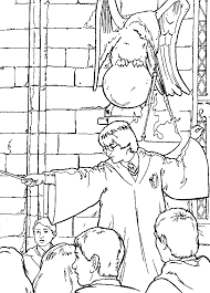 kids n fun co uk 26 coloring pages of harry potter and the