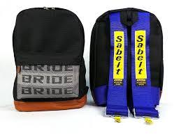 ricer vs tuner amazon com bride jdm racing backpack racing harness shoulder