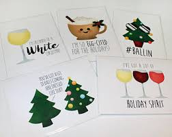 christmas pun card etsy