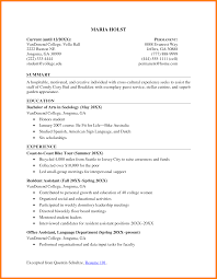 Resume Samples Normal by Resume Objectives For College Students Free Resume Example And