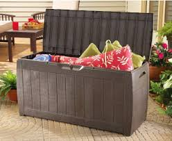 Patio Storage Chest by Smart Outdoor Patio Storage Solutions U2013 Types Features And