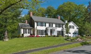 colonial revival portico exterior traditional with colonial