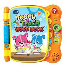 amazon com vtech touch u0026 teach word book frustration free