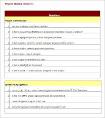 project checklist template 11 free word pdf documents download