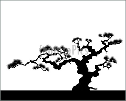 japanese tree illustration
