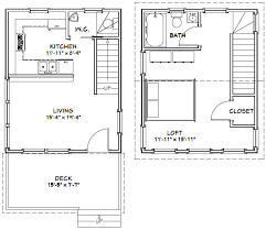 Floor Plans For Shed Homes 16x20 House 16x20h3 569 Sq Ft Excellent Floor Plans