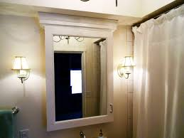 recessed medicine cabinet with lights awesome medicine cabinets with mirror protoblogr design