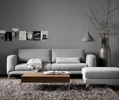 hellgraues sofa die neuen trendigen wandfarben im wohnzimmer