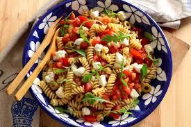 recette salade de pâtes comme en italie en pas à pas